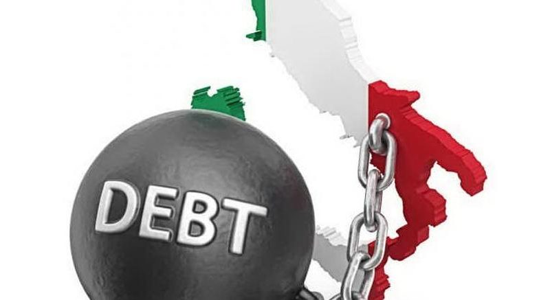 EUROSTAT: NEL 2018 DEBITO ITALIANO SALITO AL 132,2%, IN 24 PAESI UE (SU 28) E' SCESO